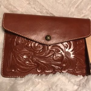 Patricia Nash Leather IPad Mini Clutch Bag